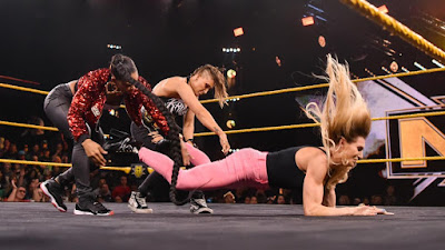 WWE NXT Flair Rhea Ripley WM36 Womens WrestleMania Match Triple Threat