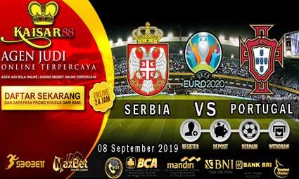 PREDIKSI BOLA TERPERCAYA SERBIA VS PORTUGAL 08 SEPTEMBER 2019