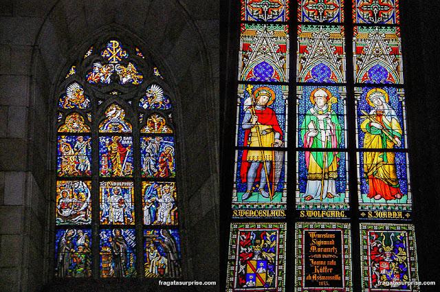 Vitrais da Catedral de São Vito, Praga