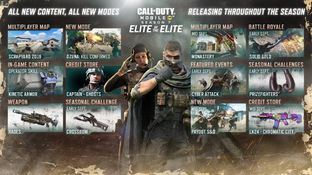 الإصدار التجريبي العام لـ لعبة Call of Duty Mobile قادم بميزات ومحتوى من المواسم المستقبلية