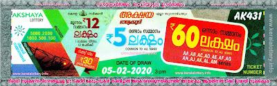 Keralalottery.info, akshaya today result: 5-2-2020 Akshaya lottery ak-431, kerala lottery result 5.2.2020, akshaya lottery results, kerala lottery result today akshaya, akshaya lottery result, kerala lottery result akshaya today, kerala lottery akshaya today result, akshaya kerala lottery result, akshaya lottery ak.431 results 05-02-2020, akshaya lottery ak 431, live akshaya lottery ak-431, akshaya lottery, kerala lottery today result akshaya, akshaya lottery (ak-431) 05/02/2020, today akshaya lottery result, akshaya lottery today result, akshaya lottery results today, today kerala lottery result akshaya, kerala lottery results today akshaya 5 2 20, akshaya lottery today, today lottery result akshaya 5/2/20, akshaya lottery result today 05.02.2020, kerala lottery result live, kerala lottery bumper result, kerala lottery result yesterday, kerala lottery result today, kerala online lottery results, kerala lottery draw, kerala lottery results, kerala state lottery today, kerala lottare, kerala lottery result, lottery today, kerala lottery today draw result, kerala lottery online purchase, kerala lottery, kl result,  yesterday lottery results, lotteries results, keralalotteries, kerala lottery, keralalotteryresult, kerala lottery result, kerala lottery result live, kerala lottery today, kerala lottery result today, kerala lottery results today, today kerala lottery result, kerala lottery ticket pictures, kerala samsthana bhagyakuri
