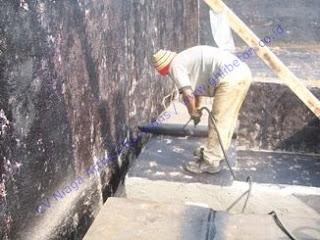waterproofing pada basement dengan membrane bakar
