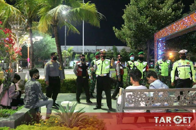 Soliditas TNI - POLRI, Polres dan Kodim Pati Adakan Patroli Gabungan, Pentingnya Penerapan Protokol Kesehatan