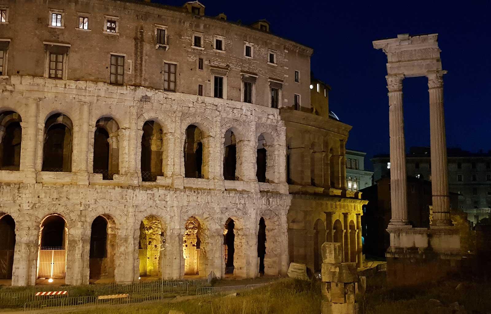 Voyage Italie Rome Théâtre de Marcellus