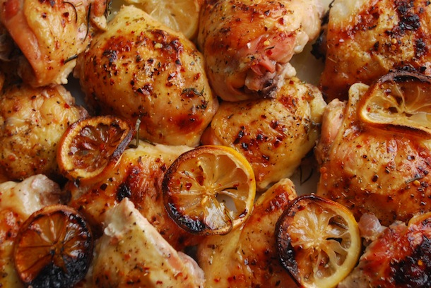 Baked Chicken Recipes Oven Bone In Thighs