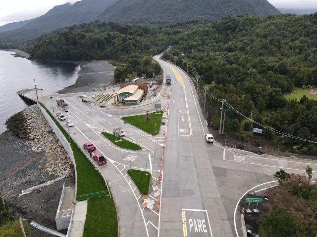 Inauguran terminal portuario en Chaitén
