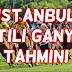 11 Mart 2017 Cumartesi İstanbul Altili Ganyan Tahmini