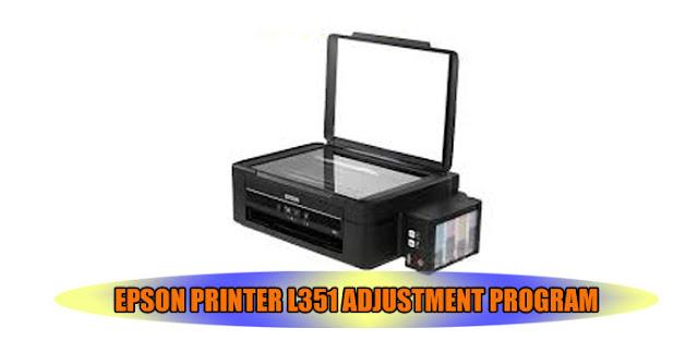 EPSON L551 PRINTER ADJUSTMENT PROGRAM