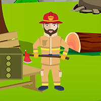 Play Avmgames Escape Fireman