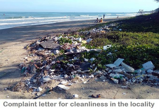 Application letter to the Municipality for cleaning