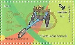 Selo Atletismo Paralímpico, RHM: C-3430