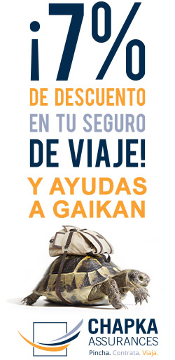 contrata tu seguro de viaje en GAIKAN y llévate un descuento además de ayudar a este pódcast