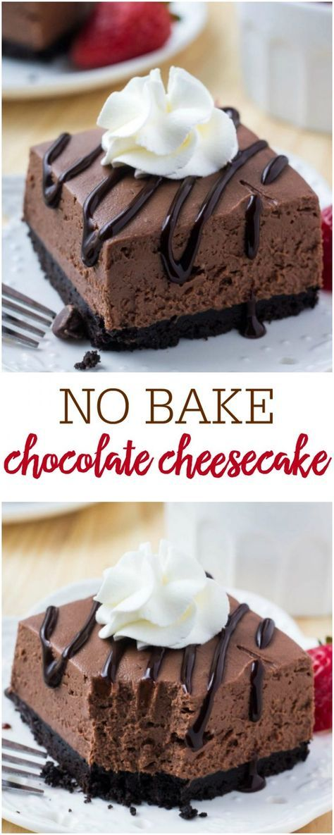 NO BAKE CHOCOLATE CHEESECAKE #dessertrecipes #dessertrecipeseasy #dessertrecipeschocolate #dessertrecipesvideos #dessertrecipesforparties #BestDESSERTRecipes #food #foodphotography #foodrecipes #foodpackaging #foodtumblr #FoodLovinFamily #TheFoodTasters #FoodStorageOrganizer #FoodEnvy #FoodandFancies #drinks #drinkphotography #drinkrecipes #drinkpackaging #drinkaesthetic #DrinkCraftBeer #Drinkteaandread #RecipesFood&Drink #DrinkRecipes #recipes #recipeseasy #recipesfordinner #recipeshealthy