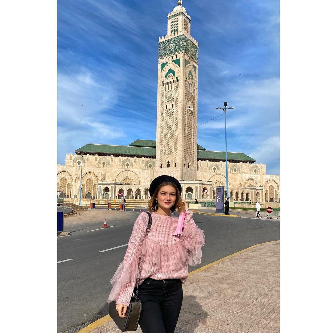 Hassan II Masjid paling indah keren Maroko