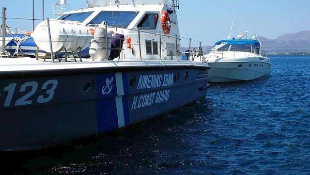 Προσάραξη σκάφους στην Αίγινα