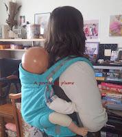 p4 ling ling d'amour porte-bébé tissu coton écharpe pas cher LLA bambin