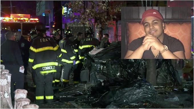 Dominicano que había cobrado demanda por accidente muere en brutal choque de tres vehículos en Brooklyn