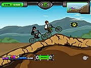 Ben 10 BMX, game dua xe