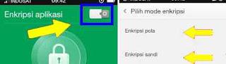 membuat PIN dan pola aplikasi di OPPO