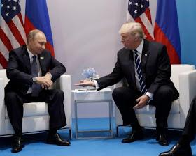 Trump meets Putin at G20 summit.