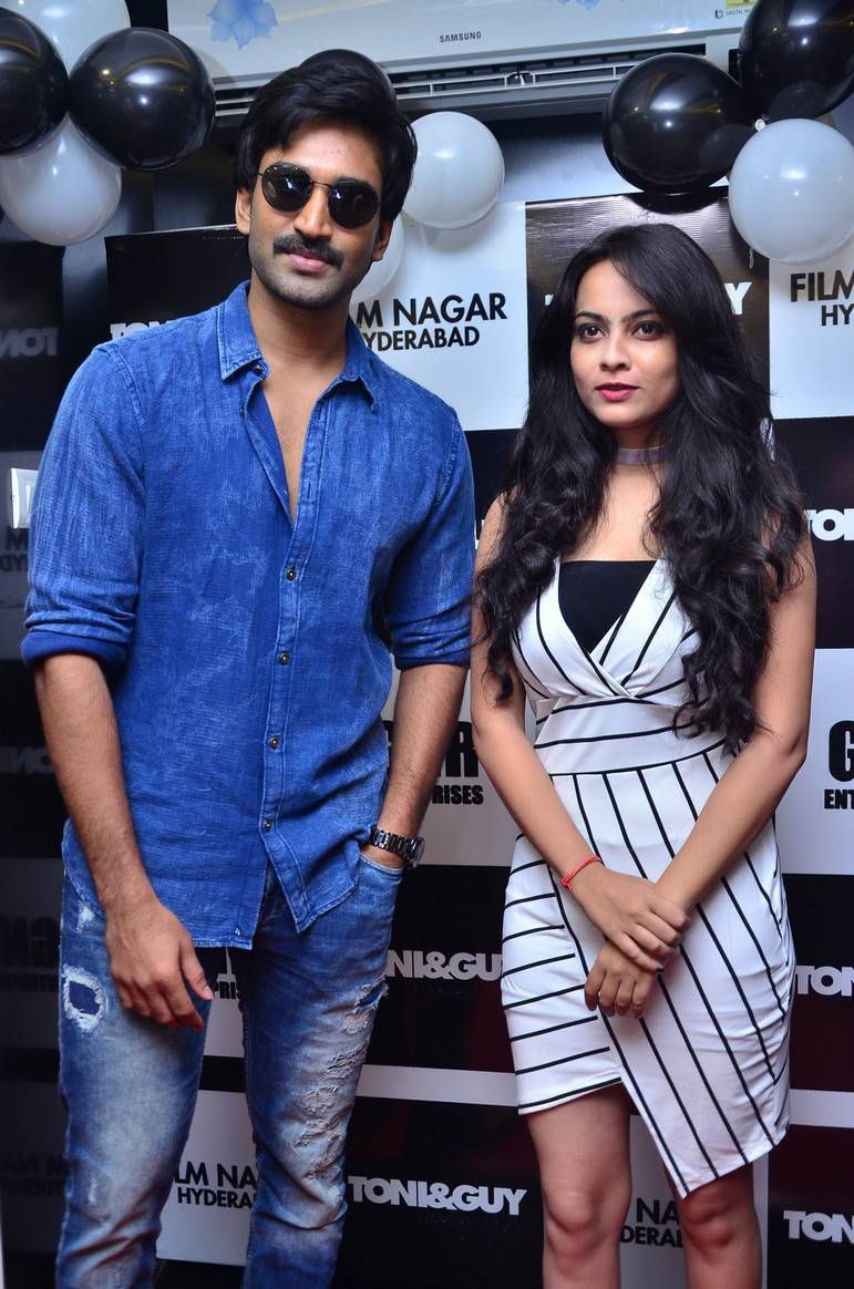 Aadhi At Toni and Guy Salon Launch Stills