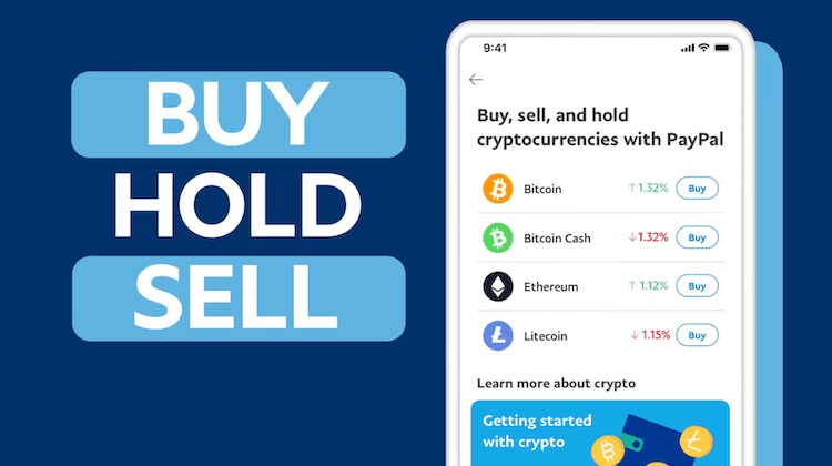 PayPal Launches Cryptocurrency Trading in US