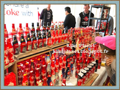 coca cola convention paris serge feuillet Eric rosenberg collection pinky monchhichi rose kiki planet Moschino
