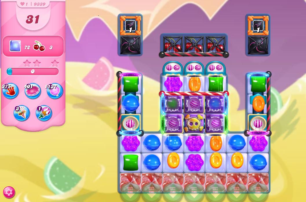 Candy Crush Saga level 9339