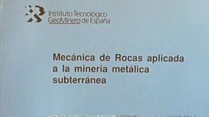 Mecanica de rocas aplicada a la mineria metalica subterranea pdf