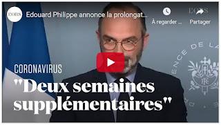 Annonce d'Edouard Philippe Premier Ministre, France