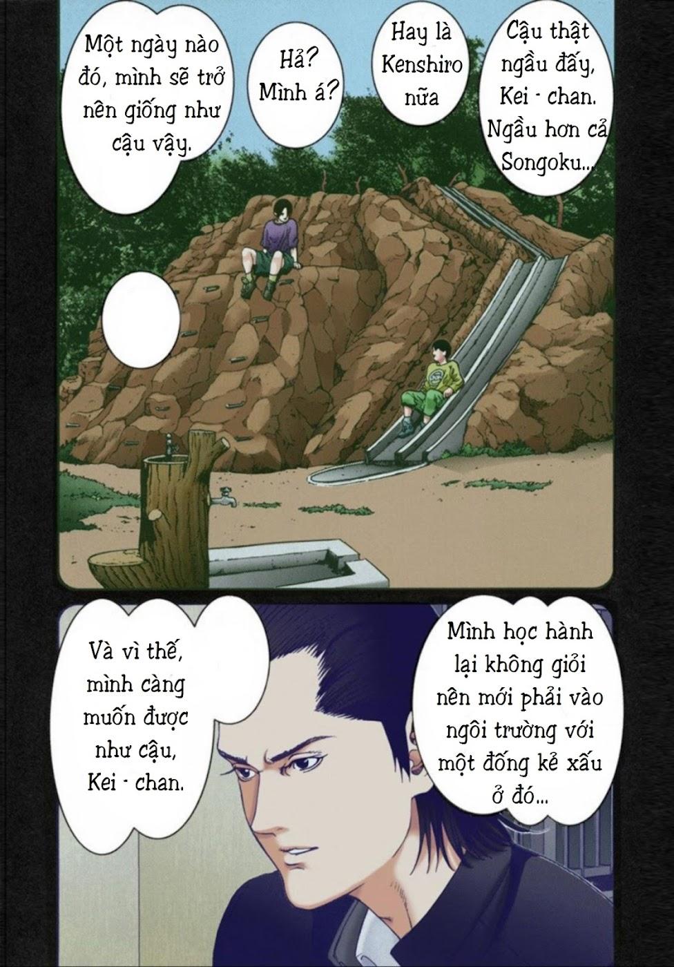 Gantz Chap 14: Không sợ trang 11