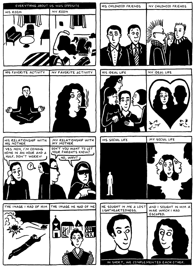 Read Chapter 13 - The Exam, page 125, from Marjane Satrapi's Persepolis 2 - The Story of a Return