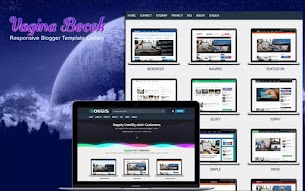 Black Store Responsive Blogger Template - Responsive Blogger Template