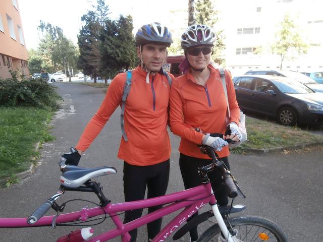 Linda s manželem - u dvojkola