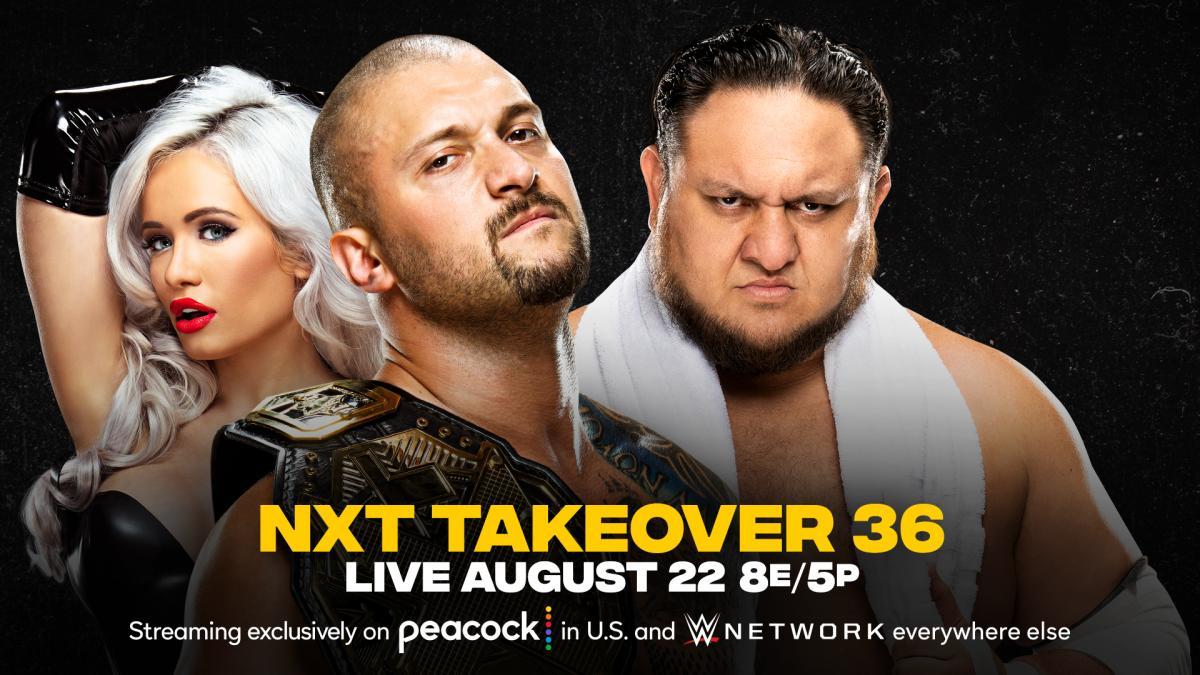 Karrion Kross vs. Samoa Joe acontecerá no NXT TakeOver 36