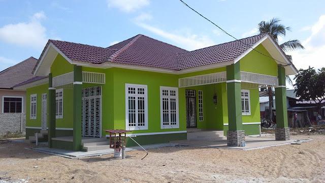 Gambar 45 Desain Rumah Kampung Minimalis Sederhana Tampak