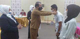 Kaban Kesbangpol Provinsi Jambi Secara Resmi Membuka Seminar DPD PPJI.