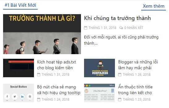 Tạo bài viết mới theo nhãn chi tiết cho blogger/blogspot