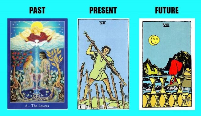 PICK A CARD TO RECEIVE A MESSAGE FOR PAST, PRESENT AND FUTURE