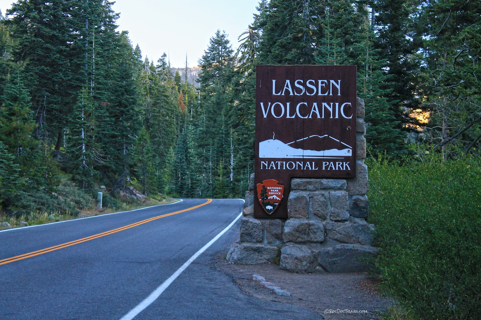 Lassen Volcanic National Park Cascades volcano California eruption disaster lava hiking geology travel field trip photography copyright RocDocTravel.com