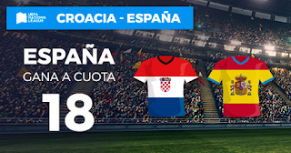 Paston Megacuota UEFA Nations League Croacia vs España 15 noviembre