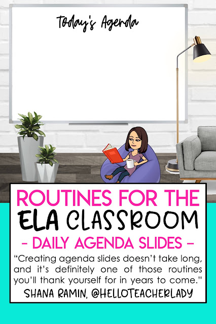 12 Classroom Routines to Try in the Secondary ELA Classroom