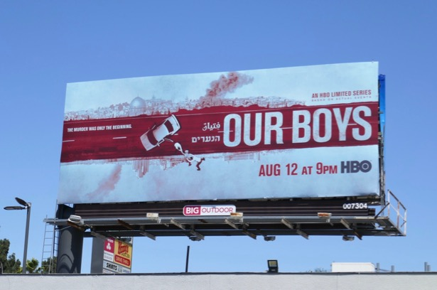 Our Boys limited series billboard