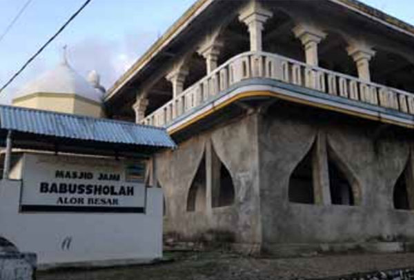 Masjid Baabussholah merupakan masjid pertama di Pulau Alor
