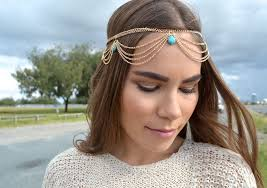 gold tikka headpiece in Ireland