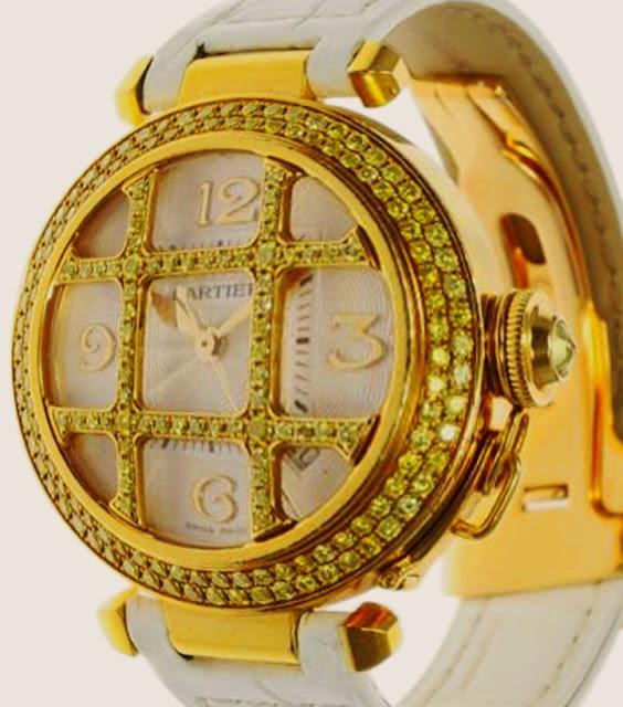 """أفضل ساعة باشا كارتير """"Cartier Pasha"""""""