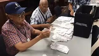 Finaliza conteo manual de votos y da como ganador a Gonzalo Castillo