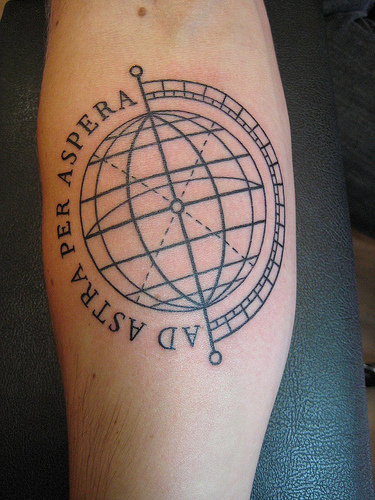 Globe tattoo tattoos photo gallery for The world is yours tattoo