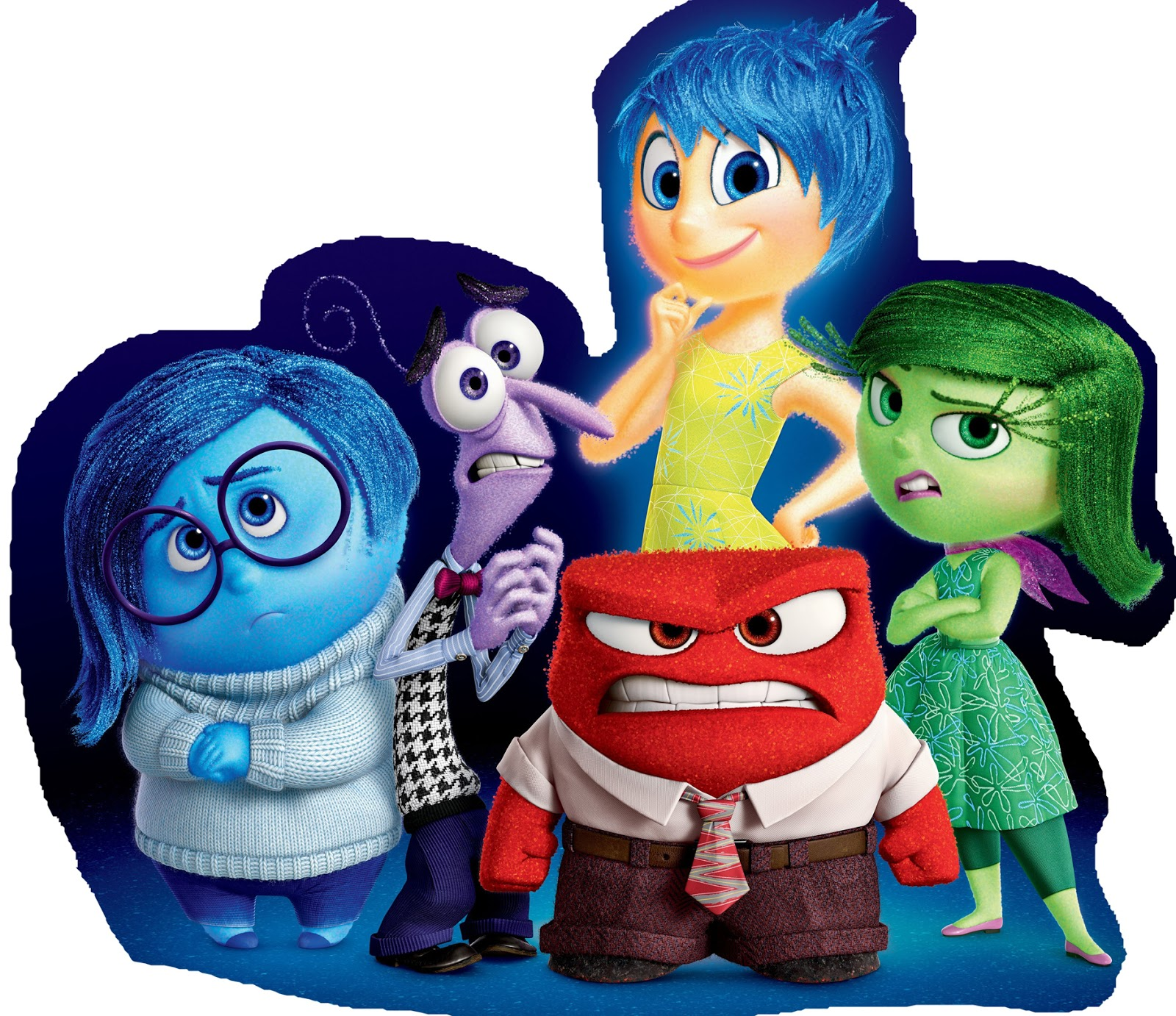 Birthday Of Inside Out Free Printable Image And Free