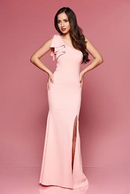vestidos largos con encaje